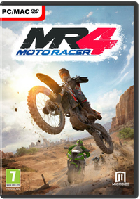 Moto Racer 4 - Windows + Mac-PC CD-DVD