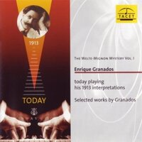 Welte-Mignon Mystery Vol. I-Enrique Granados Piano-CD