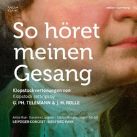 So Horet Meinen Gesang-Leipziger Concert & Siegfried Pank-CD