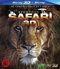 Avontuur Safari (3D En 2D Blu-Ray)-3D Blu-Ray
