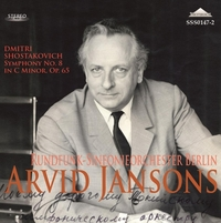 Symphony No.8-Arvid Jansons, Berlin Rundfunk Symphonie Orchest-CD