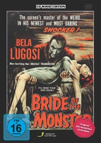 Ed Wood - Bride Of The Monster-DVD
