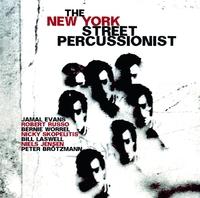 New York Street Percussionist-Evans, Russo, Worrel-LP