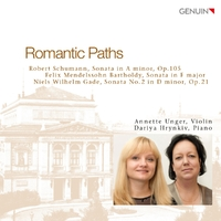 Romantic Paths - Werke..-Gade, Mendelssohn, Schumann-CD