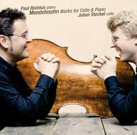 Felix Mendelssohn, Works For Cello And Piano-Julian Steckel, Paul Rivinius-CD