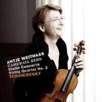 Violin Concerto & String Quartet No. 3-Weithaas, Antje | Bern, Camerata-CD