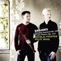 Brahms Clarinet & Piano , Op. 119 & 120-Nicolai Pfeffer & Felix Wahl-CD