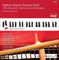 Edition Klavier - Festival Ruhr Vol. 36, 'the Am-Sergio Tiempo & Others-CD