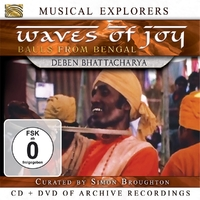 Musical Explorers: Waves Of Joy-Deben Bhattacharya-CD