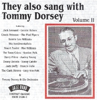 They Also Sang With Tommy Dorsey 2--CD