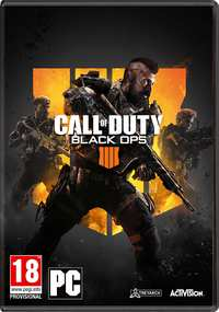 Call Of Duty - Black Ops 4 -PC CD-DVD