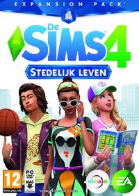 De Sims 4: Stedelijk Leven (Windows + Mac)-PC CD-DVD