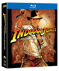 Indiana Jones - The Complete Adventures-Blu-Ray