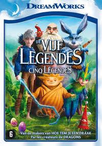 De Vijf Legendes-DVD