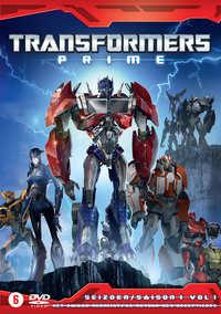 Transformers Prime - Seizoen 1 - Darkness Rising-DVD