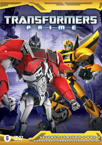 Transformers Prime - Seizoen 1 - Dangerous Ground-DVD