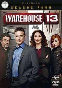Warehouse 13 - Seizoen 4-DVD