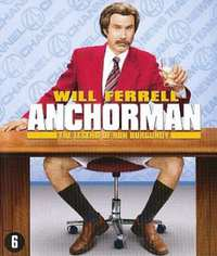 Anchorman: The Legend Of Ron Burgundy-Blu-Ray