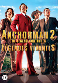Anchorman 2 - The Legend Continues-DVD