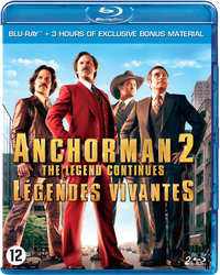 Anchorman 2 - The Legend Continues-Blu-Ray