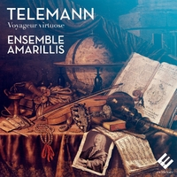 Telemann / Voyageur Virtuose-Ensemble Amarillis, H. Gaillard-CD
