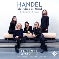 Melodies In Mind-Ensemble Amarillis Heloise Gaillard-CD