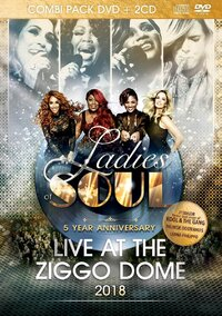 Ladies Of Soul - Live At The Ziggodome 2018 (DVD + 2 Cd's)-DVD+CD