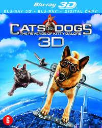 Cats & Dogs: De Wraak Van Kitty Galore (3D + 2D Blu-Ray)-3D Blu-Ray
