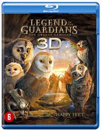 Legend Of The Guardians (3D En 2D Blu-Ray)-3D Blu-Ray