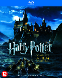 Harry Potter - Complete 8-Film Collection-Blu-Ray