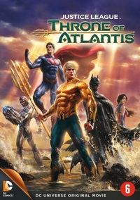 Justice League - Throne Of Atlantis-DVD