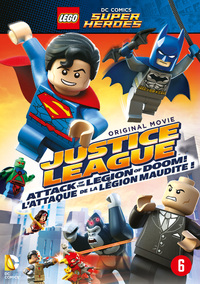 Lego DC Super Heroes - Justice League Attack Of The Legion Of Doom-DVD