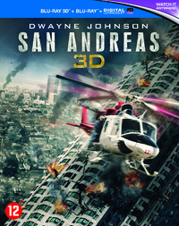 San Andreas (3D En 2D Blu-Ray)-3D Blu-Ray