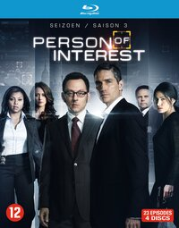 Person Of Interest - Seizoen 3-Blu-Ray