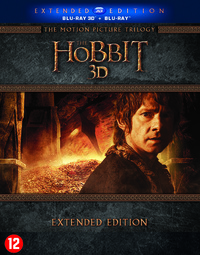 The Hobbit Trilogy Extended Edition (3D En 2D Blu-Ray)-3D Blu-Ray