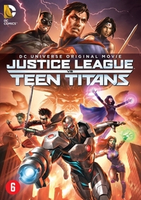 Justice League Vs. Teen Titans-DVD