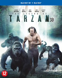 The Legend Of Tarzan (3D En 2D Blu-Ray)-3D Blu-Ray