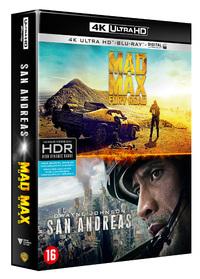 Mad Max - Fury Road + San Andreas (4K Ultra HD En Blu-Ray)-4K Blu-Ray