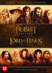 The Hobbit Trilogy & The Lord Of The Rings Trilogy-DVD