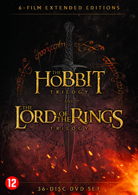 The Hobbit Trilogy & The Lord Of The Rings Trilogy (Extended)-DVD