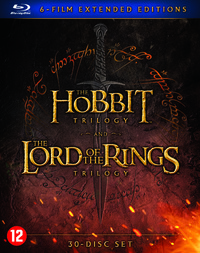 The Hobbit Trilogy & The Lord Of The Rings Trilogy (Extended)-Blu-Ray
