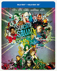 Suicide Squad (Extended Edition Steelbook) (3D En 2D Blu-Ray)-3D Blu-Ray