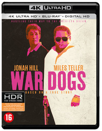 War Dogs-4K Blu-Ray