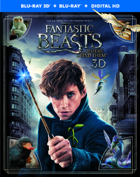 Fantastic Beasts And Where To Find Them - 3D En 2D Blu-Ray-3D Blu-Ray