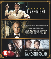 Live By Night / The Great Gatsby / Gangster Squad-Blu-Ray