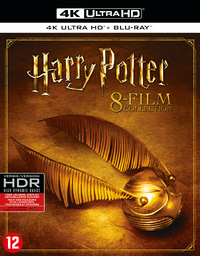 Harry Potter - Complete 8-Film Collection (4K Ultra HD En Blu-Ray)-4K Blu-Ray