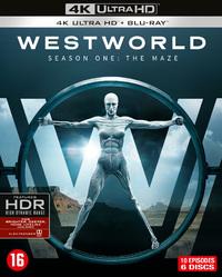 Westworld - Seizoen 1 (4K Ultra HD En Blu-Ray)-4K Blu-Ray