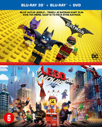 Lego Batman Movie + Lego Movie (3D En 2D Blu-Ray + DVD)-3D Blu-Ray