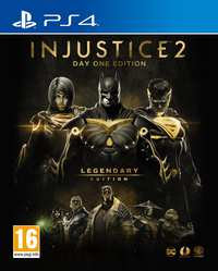 Injustice 2 (Legendary Edition) D1-Sony PlayStation 4