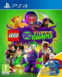 Lego DC Supervillains + Toy-Sony PlayStation 4
